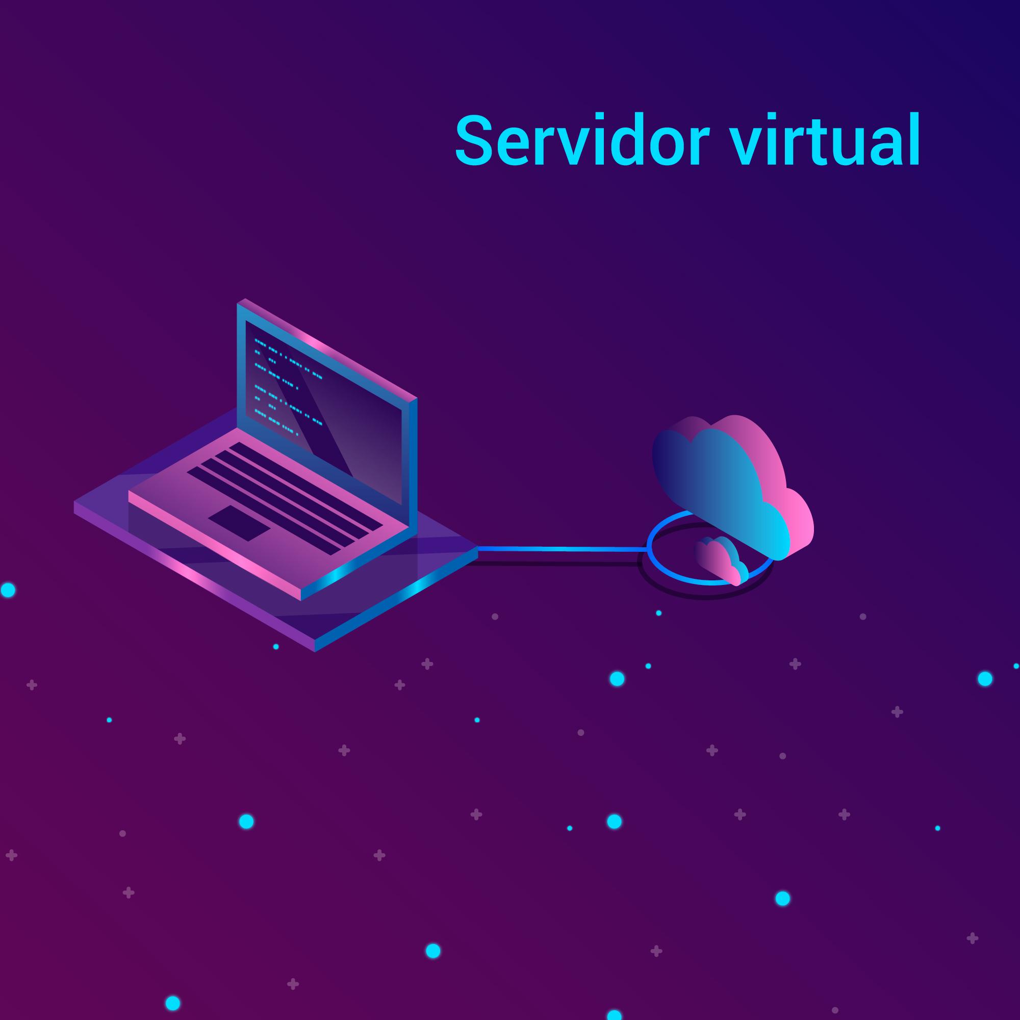 Imagem servidor virtual