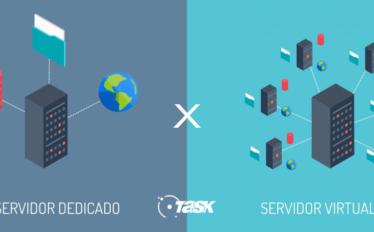 Servidor virtual e servidor dedicado