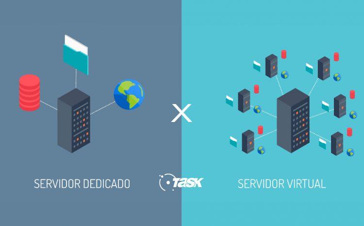 Diferença entre Servidor Virtual (alguns chamam de servidor vps) e Servidor Dedicado.
