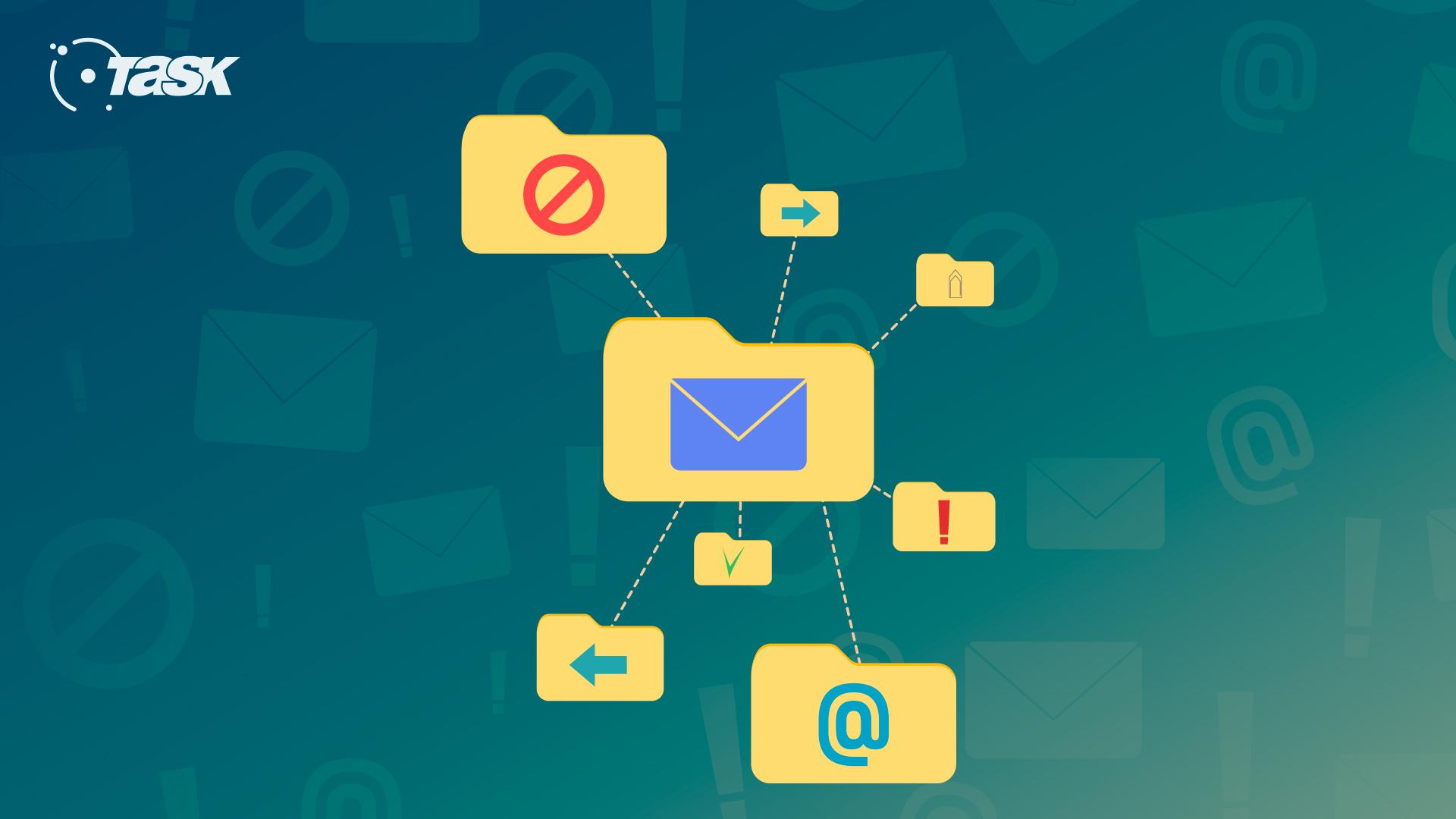 Organize sua sua caixa de e-mail profissional.