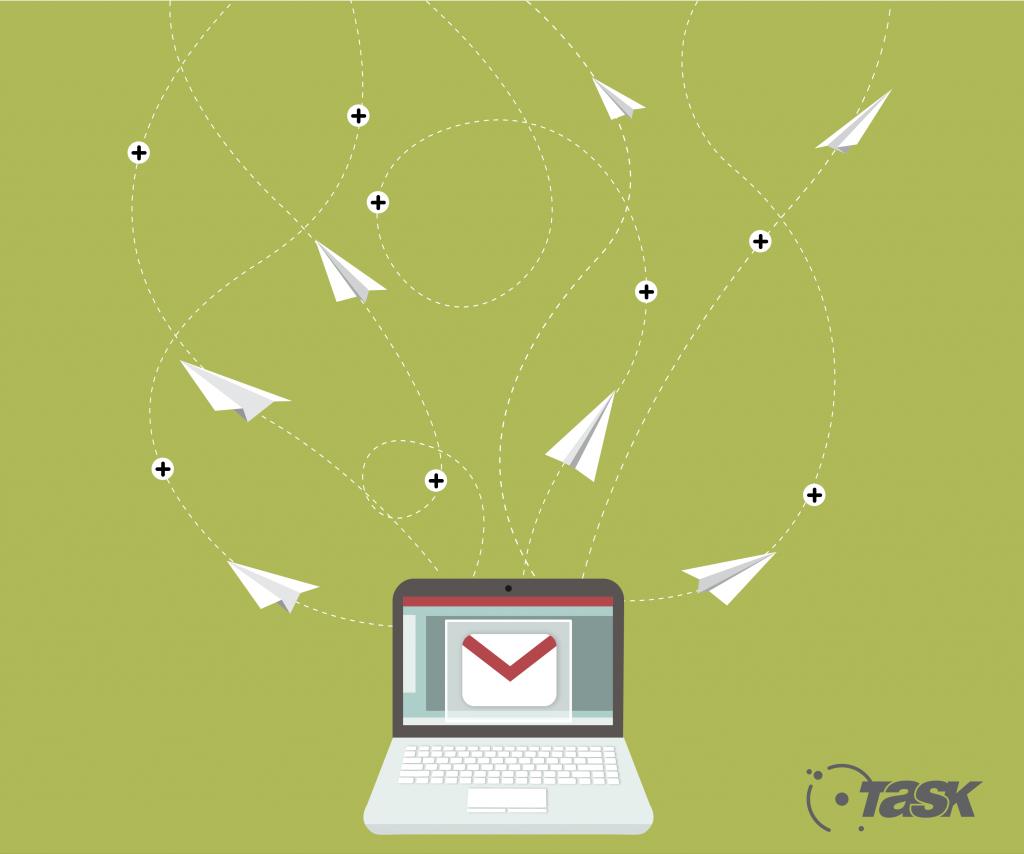 O e-mail corporativo transmite confiança e segurança.